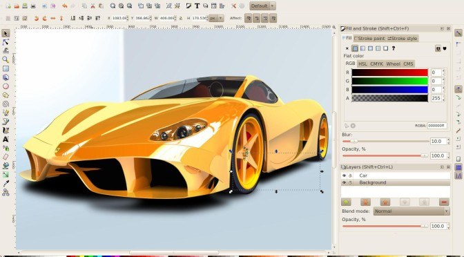 Vector Graphics Editor – UBUNTU